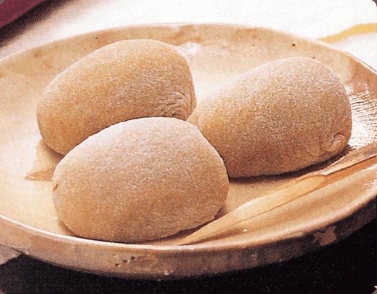 Cinnamon mochi rice cake