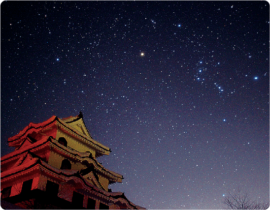 Star-filled sky